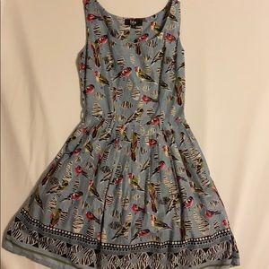 Blue Finch Summer Dress